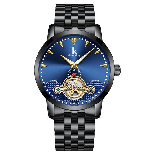 Reloj mecánico automático IKColouring Business Reloj resistente al agua 3ATM Reloj luminoso Reloj masculino