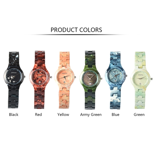 BEDATE Fashion Casual Quartz Watch 3ATM Water-resistant Watch Women Wristwatches Female Calendar