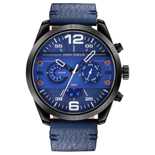 MINI Focus Fashion 3ATM Water-Proof Quartz Men Watch
