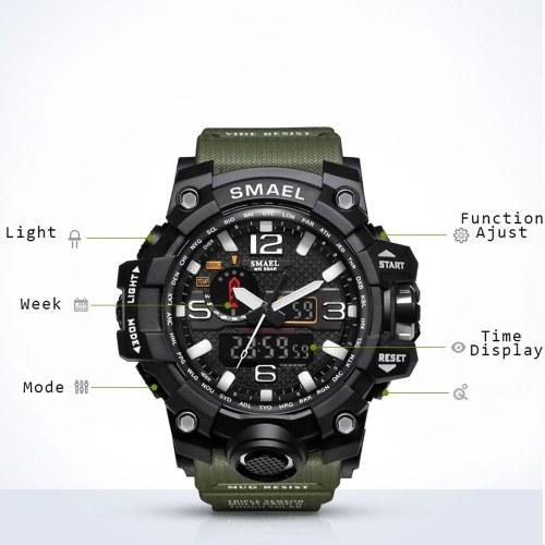 SMAEL 1545 Stylish Sports Watch