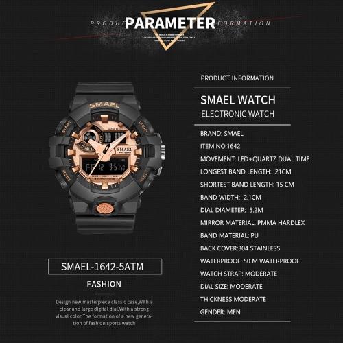 SMAEL 1642 Stylish Sports Watch