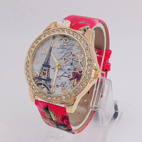 Reloj de pulsera clásico de la