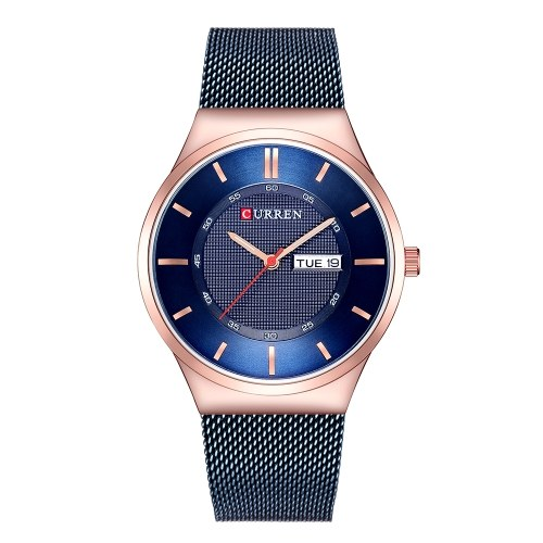 CURREN 8311 Herrenuhr Quarz Markenuhr Armbanduhr
