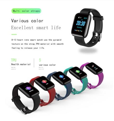 D13 Smart Watch Inteligencia Pulsera Rastreador