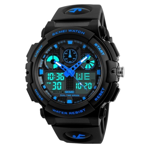 SKMEI 1270 Quartz Digital Electronic Montre Homme