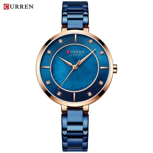 CURREN 9051 Mulher Quartz Watch
