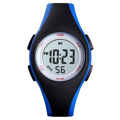 SKMEI 1459 Luminous 5ATM Waterproof Digital Children's Sports Watch