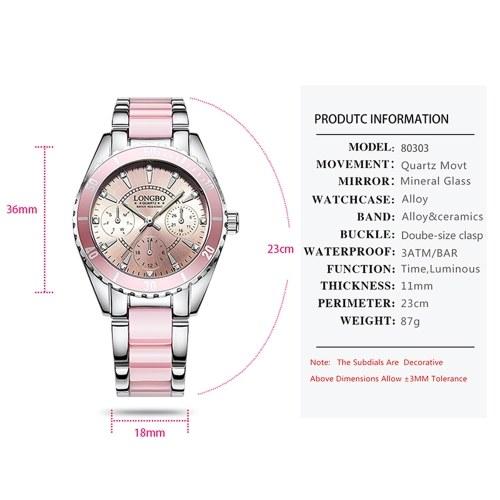 LONGBO Reloj De Moda Para Mujer