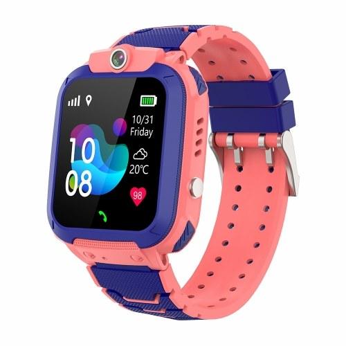 1.44'' Kids Smart Watch GPS + LBS Tracker SOS Call 2-Way Call Voice Chat IP67 Waterproof Children Phone Watch Smartwatch Phone for Boys Girls