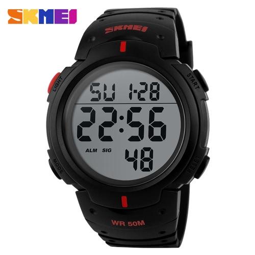 Skmei 1068 LED Digital Reloj Militar