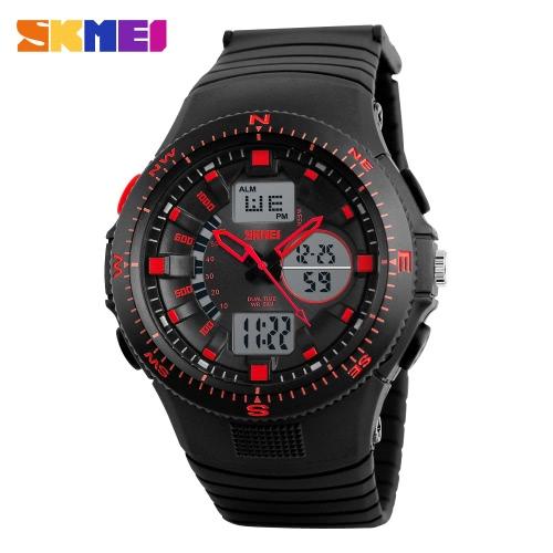 SKMEI 2016 S Shock Sports Men Stopwatch Alarm Watches Men's Digital LED Role Watch Water Resistance Compass Calendar