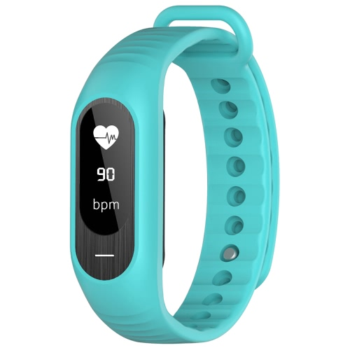 BOZLUN BT4.0 Water-Proof-Screen-OLED-Smart-Sport-Armband-Uhr-Puls / Blutdruck / Schlaf-Monitor Pedometer Kalorie Fitness Armbanduhr für IOS und Android Alarm Entfernung Anti-Verlorene + Watch