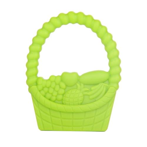 100% commestibile a mano in silicone Held masticabili carrello Massaggiagengive dentizione Pendente per la collana Chew bambino del bambino lenitivo Nursing gioielli giocattolo BPA DIY