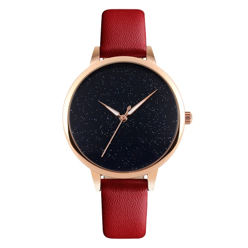 SKMEI Super Simplicity Chic Luxury 3ATM Daily Water Resistant Fashion Women Analog Watch Luminous Hands Elegant Simple Wristwatch for Lady