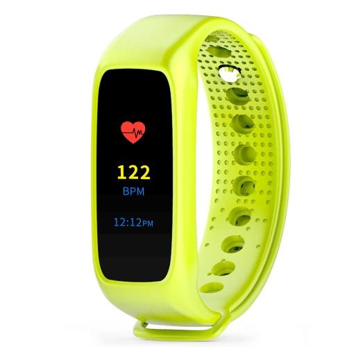 SKMEI Bunte Touch Screen BT4.0 Smart-Handgelenk-Band-Uhr-IP67 wasserdichte Sport Fitness Tracker Smart-Armband Herzfrequenz / Blutdruck / Pedometer / Sleep-Monitor für IOS und Android + Box