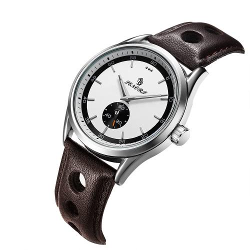 SENORS SN016 Fashion Casual 3ATM reloj de cuarzo resistente al agua