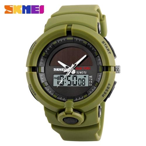 SKMEI 5ATM Resistente al Agua Digital Reloj Hombre Relojes Deportivos Retroiluminación Reloj Hombre Relogio Musculino
