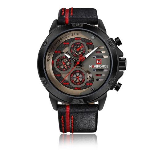 Reloj de cuarzo casual NAVIFORCE 9110 Fashion