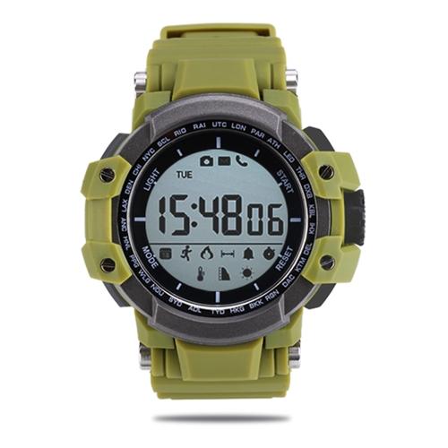 Reloj inteligente Zeblaze Sport de pantalla LCD de 1.2 pulgadas, podómetro BT 4.0, cámara de control remoto, monitorización del sueño, reloj de pulsera inteligente para Android 4.4 y iOS 7.0 o superior