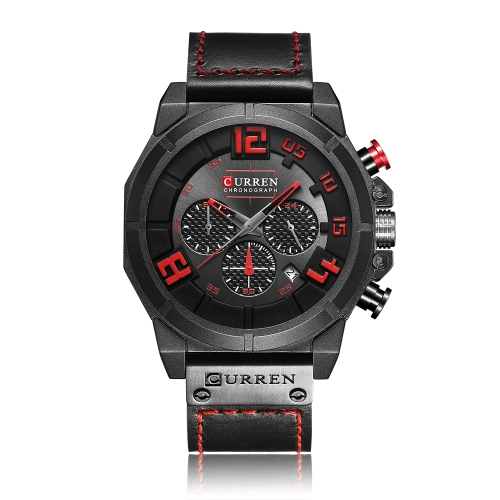 Relojes CURREN 8287 Fashion Sport Genuine Leather Men