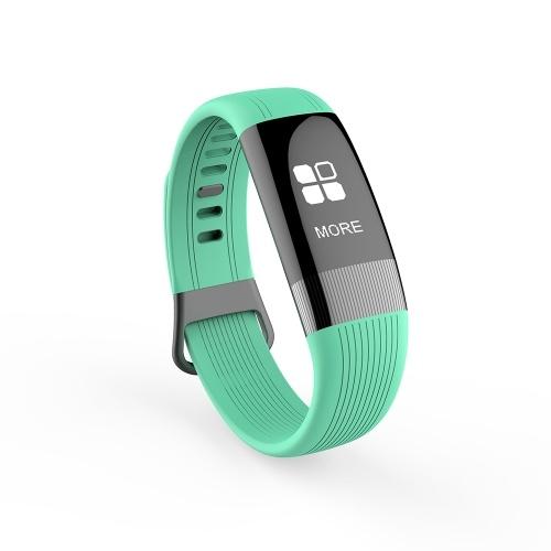Intelligente bracciale IP67 impermeabile Tracker Fitness con pedometro ECG Monitor sportivo cinturino da polso per Android e IOS Fitness Smart Watch Bracciale
