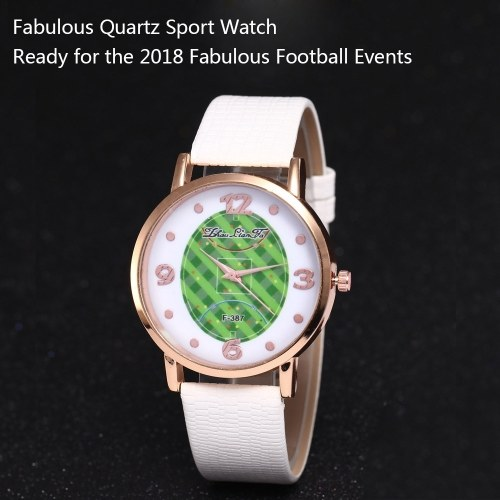 F-387 Fashion Watches Quartz Luxury Leather Wrist Watch for FIFA World Cup