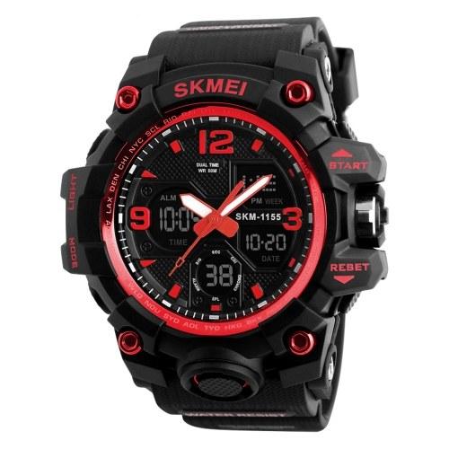 SKMEI 1155B Quartz Digital Electronic Men Watch