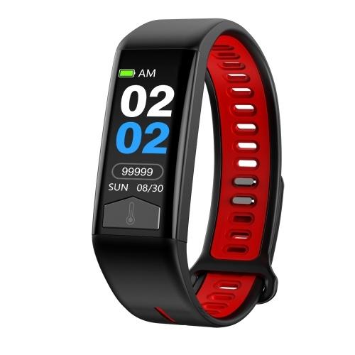 Microwear T02 Smart Bracelet IP68 Waterproof 0.96-Inch IPS TFT Colorful Screen Smart Watch