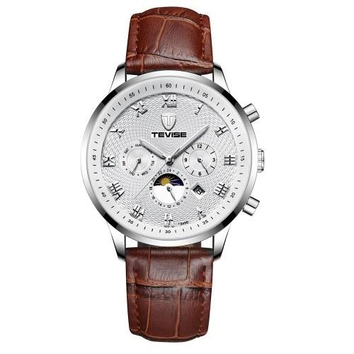TEVISE T846B Мужские часы с большими циферблатами Механические часы фото