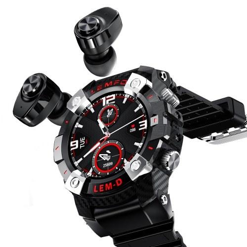 LEMFO LEMD Smartwatch + TWS Earbuds Set