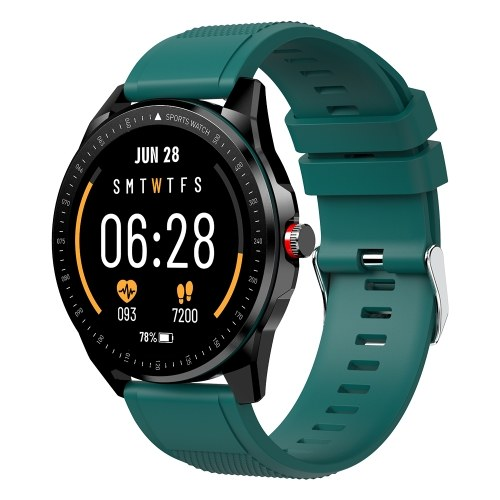 TICWRIS 1.3 Inch Fitness Tracker Heart Rate Monitor Smart Watch with Replaceable Watchband