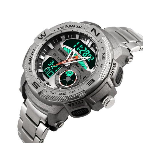 SKMEI Analog-Digital LED Display Sports Watch
