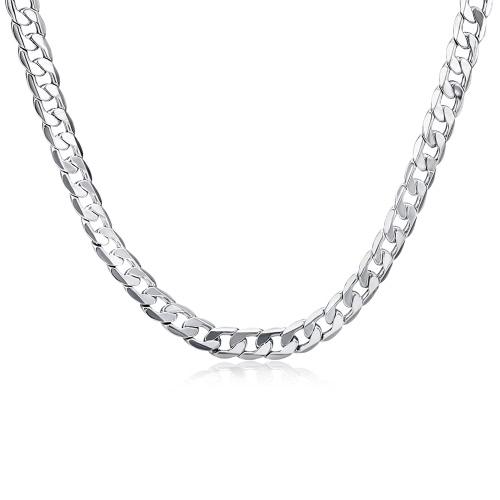 Novas jóias populares para homens Colar de moda Personalização de alta qualidade Colar de corrente de design simples
