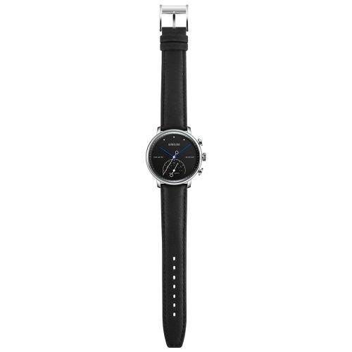 BOZLUN Moda BT4.0 Smart Watch para IOS y Android 3ATM Water-Proof hombres de cuero genuino de las mujeres Reloj de pulsera casual Fitness Tracker Pedometer Call Remind