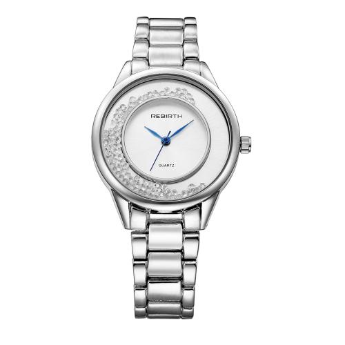 REBIRTH Fashion Casual Cuarzo Reloj Vida Resistente al agua Reloj Mujer Relojes de pulsera Mujer