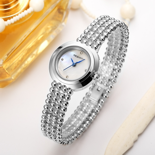 REBIRTH Luxury Stainless Steel Quartz Women Watches Water-Proof Laides Business Watch Dress Up Female Feminio Relogio