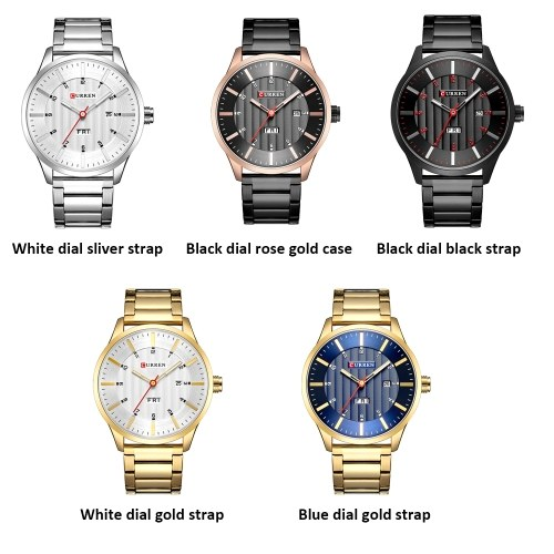 CURREN 8316 Men Watch Quartz Brand Watch Wristwatch