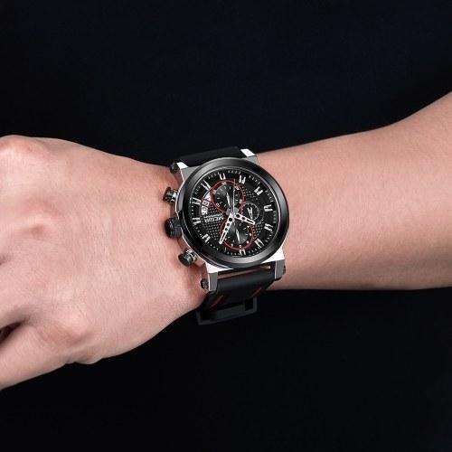 MEGIR 2100 Herrenuhr / Quarz Sport Einfache Armbanduhr
