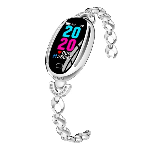 E68 Smart Bracelet 0.96-Inch IPS Colorful Screen Female Smart Watch