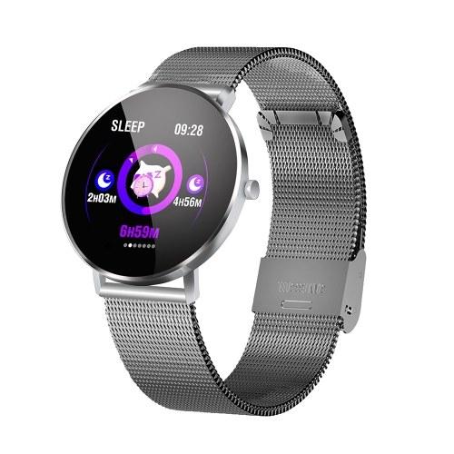 F25 Smart Bracelet mit Steel Strap Band für Android4.4 iOS9.0 und höher
