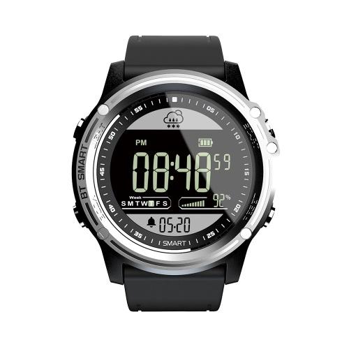LOKMAT MK06 IP68 Водонепроницаемые мужские умные часы с 1,25-дюймовым экраном FSTN BT 4.0 Фитнес-активность Трекер Шагомер Калорий Расстояние Секундомер Удаленная камера Прогноз погоды для мужчин Женщины для Android / iOS