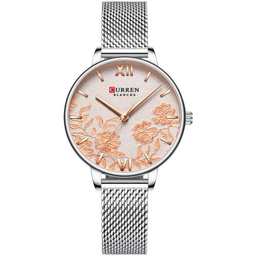 CURREN 9065 Elegante orologio da donna al quarzo elegante e casual