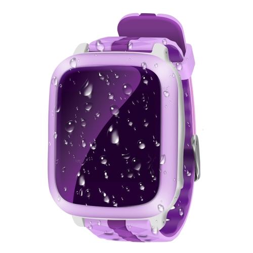 """1.44 """"LCD Kids Reloj inteligente teléfono GPS Tracker Call / SOS / Ranura para tarjeta SIM / Valla electrónica / Alarma / Podómetro Anti-Lost Niños Buscador GPS Locator para iOS y Android"""