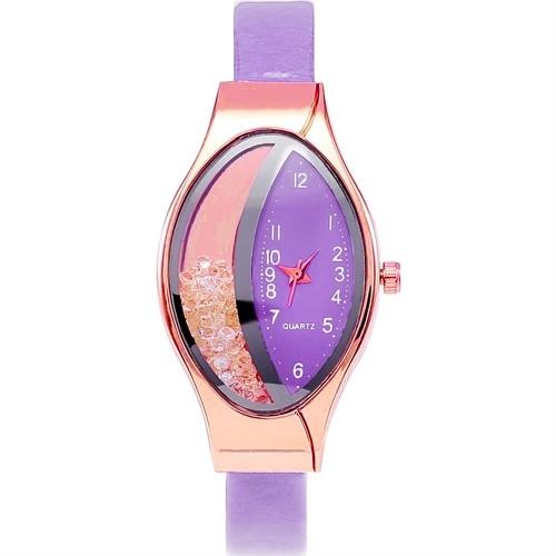 Cintura serpentina con diamante elegante orologio da donna Diamanti fluenti orologi per le donne
