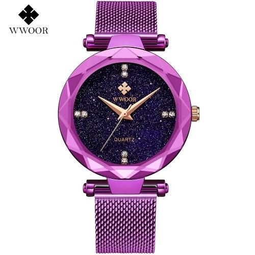 WWOOR Vestido de mujer Relojes Reloj deportivo para mujer