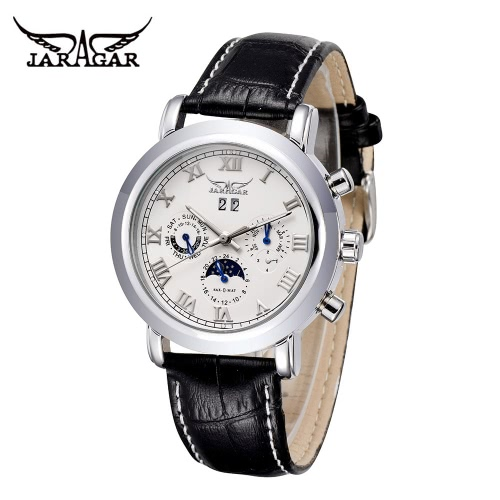 JARAGAR High Quality Automatic Mechanical Watch Water Resistant Self-winding