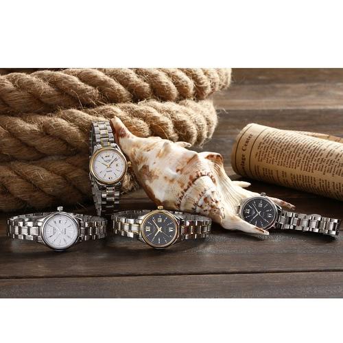GUANQIN 2016 Fashion Women's Luxury Quartz Watches Steel Strap Watch Waterproof Luminous Ultrathin Wristwatch for Lady