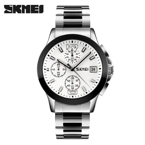 SKMEI  Negócios masculinos  Luxo Relógio de pulso