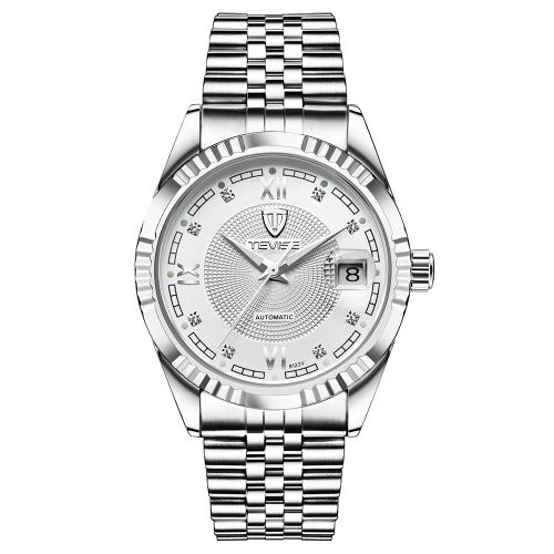 TEVISE Top Brand Men Fashion Luxury Waterproof Wristwatch Automatic Mechanical Watch Business Men's Watches