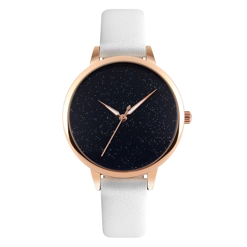 3 ATM SKMEI Súper elegante simplicidad de lujo Resistente de agua diario manera de las mujeres del reloj análogo de las manos luminosas elegante reloj de pulsera simple para Lady